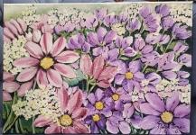 Flores malva
