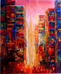�El amanecer en la ciudad�