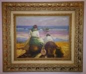 Mujeres con vistas al mar