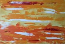 Cuadro abstracto original campos