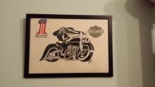 Calavera Harley Davidson