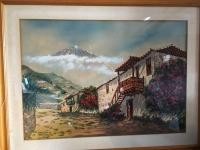 Paisaje Pueblo Canario de Pastor Cabrera