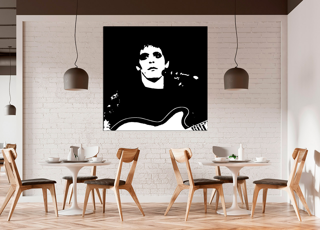 Cuadro Pop Art Lou Reed Bme160189