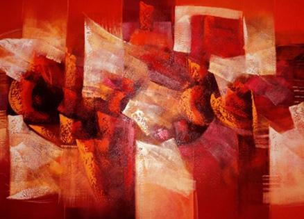 Cuadros abstractos low cost
