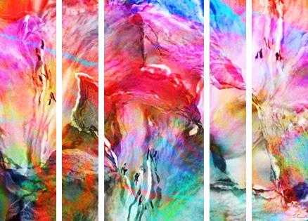 Cuadros abstractos tripticos y composiciones