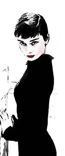 Cuadro Audrey Hepburn (bme083050)