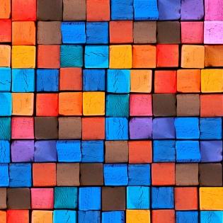 Cuadro tintes de colores (bme083301)