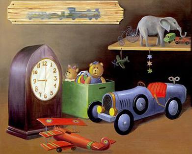 Cuadro infantil juguetes (bme090101)