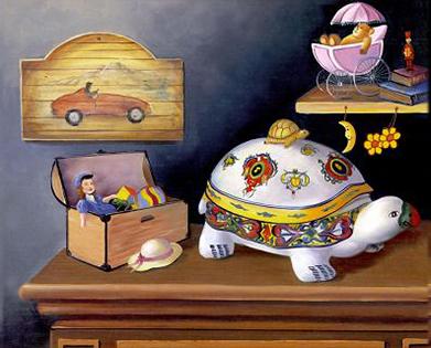 Cuadro infantil juguetes (bme090102)