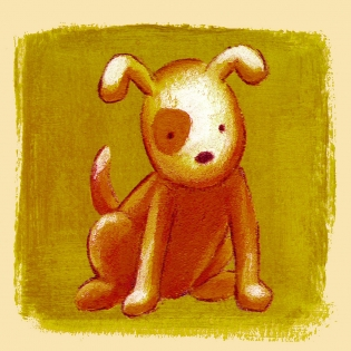 Cuadro infantil perrito (bme090204)