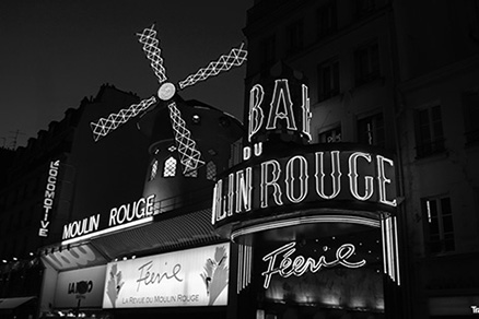 Cuadro Paris Moulin Rouge (bgca1657)