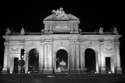 Cuadro Puerta de Alcala Madrid (bgca1058)