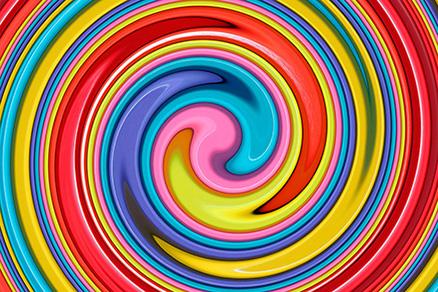 Cuadro abstracto espiral (bpx0609)