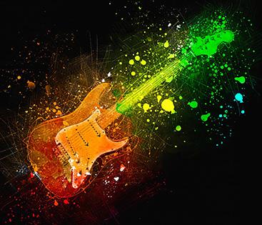 Cuadro guitarra electrica (bpx0557)