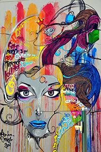 Cuadro Arte Urbano (bpx0613)