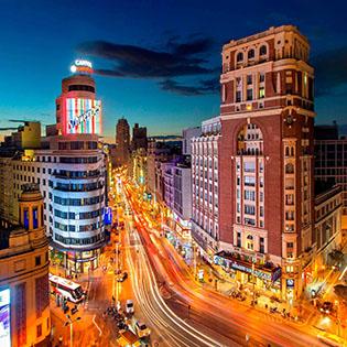 Cuadro Gran Via Madrid (bpx0011)