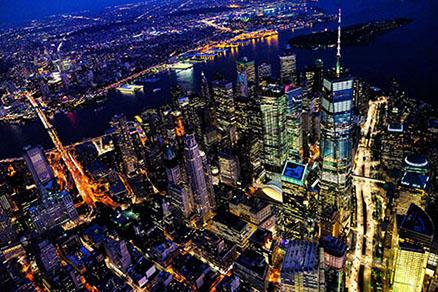 Cuadro Nueva york nocturno (bpx0017)