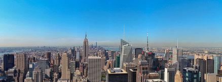 Cuadro cielo de Nueva York (bpx0025)