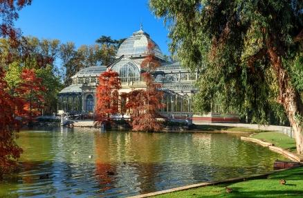 Cuadro Palacio de Cristal Madrid (bfl126525744)