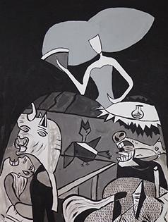 Cuadro Menina Picasso (bci1019)