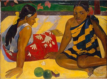 Paul Gauguin, gran pintor y gran amigo de Van Gogh.