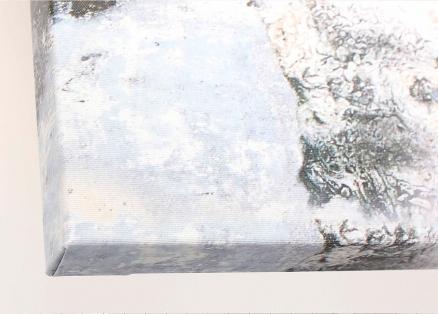 Acabado lienzo impreso