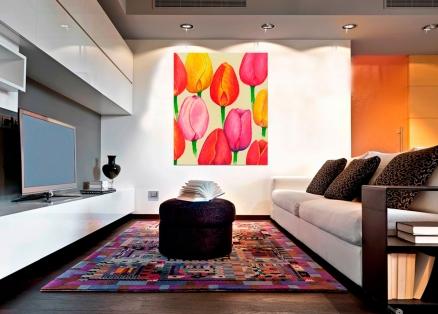 Cuadro tulipanes (bme012001)
