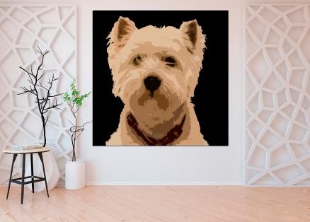 Cuadro perro pop (bgca0001)