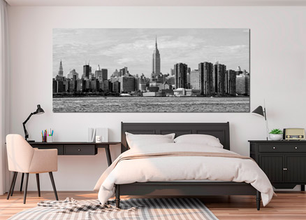 Cuadro vistas Nueva York byn (bpx0024)