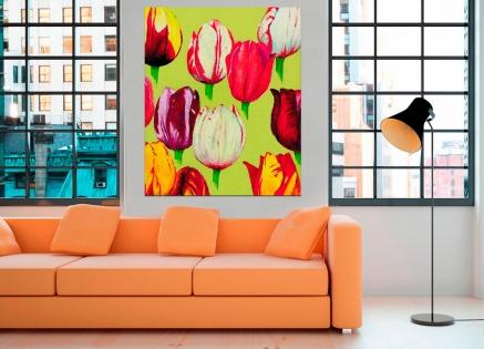 Cuadro tulipanes (bme012002)