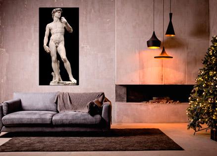 Cuadro escultura Miguel Angel (bme053801)