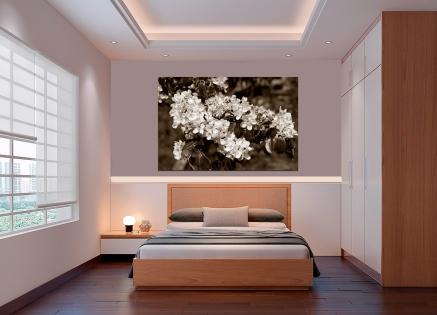 Cuadro flores elegante (bgca0587)
