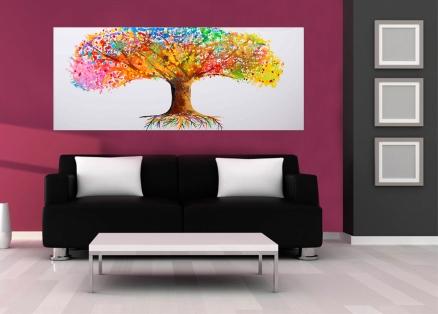 Cuadro arbol colores (bci1090)