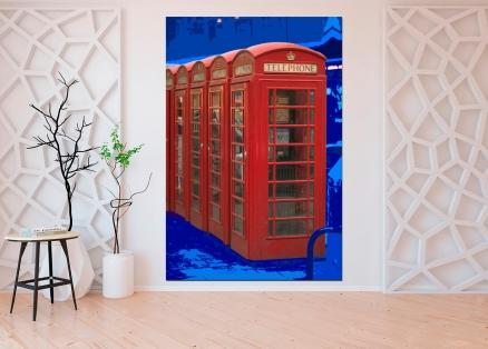 Cuadro cabina telefono londres (bgca1206)