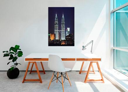 Cuadro torres petronas  (bme160204)