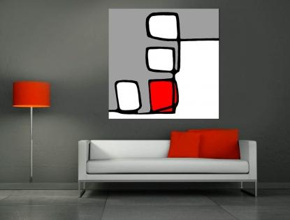 Cuadro diseño abstracto (bme170002)