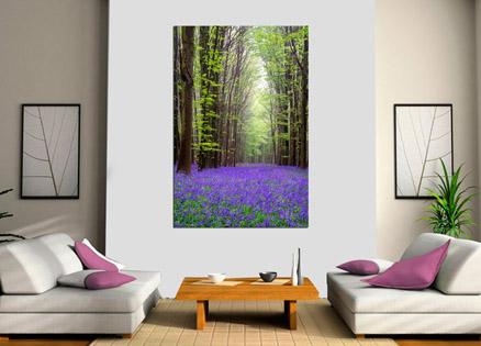 Cuadro bosque de lilas (bfl53814720)b