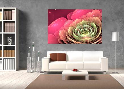Cuadro flor apaisada (bfl55359569)