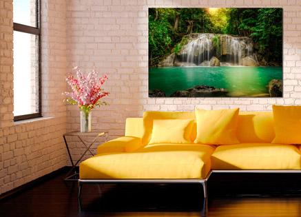 Cuadro paisaje cascada (bfl57461762)b