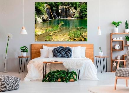 Cuadro paisaje cascada (bfl60818048)