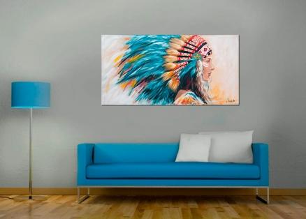 Cuadro Sioux (bjlp007)