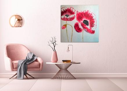 Cuadro flores (b108)