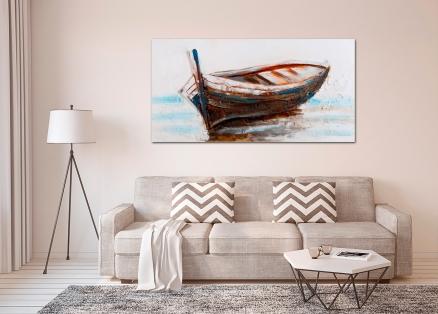 Cuadro barca (b167)