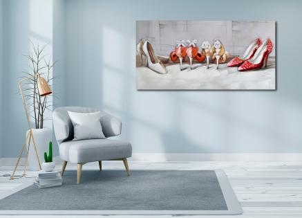 Cuadro zapatos con glamour (b24)