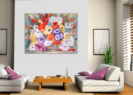 Cuadro flores (bb3006)