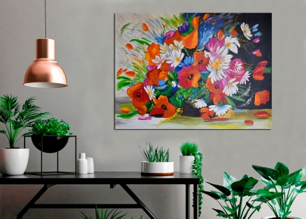 cuadro flores grande (bb3007)