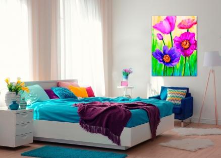 Cuadro flores (bb4008)