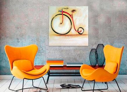 Cuadro velocipedo (bci117)
