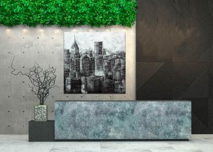 Cuadro edificios ciudad de Nueva York (bci125)