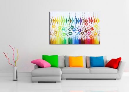 Cuadro manos de colores (bci1551)